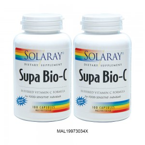 SOLARAY SUPA BIO-C 100S EXTRA 20% TWIN PACK VB (MAL19973034X)